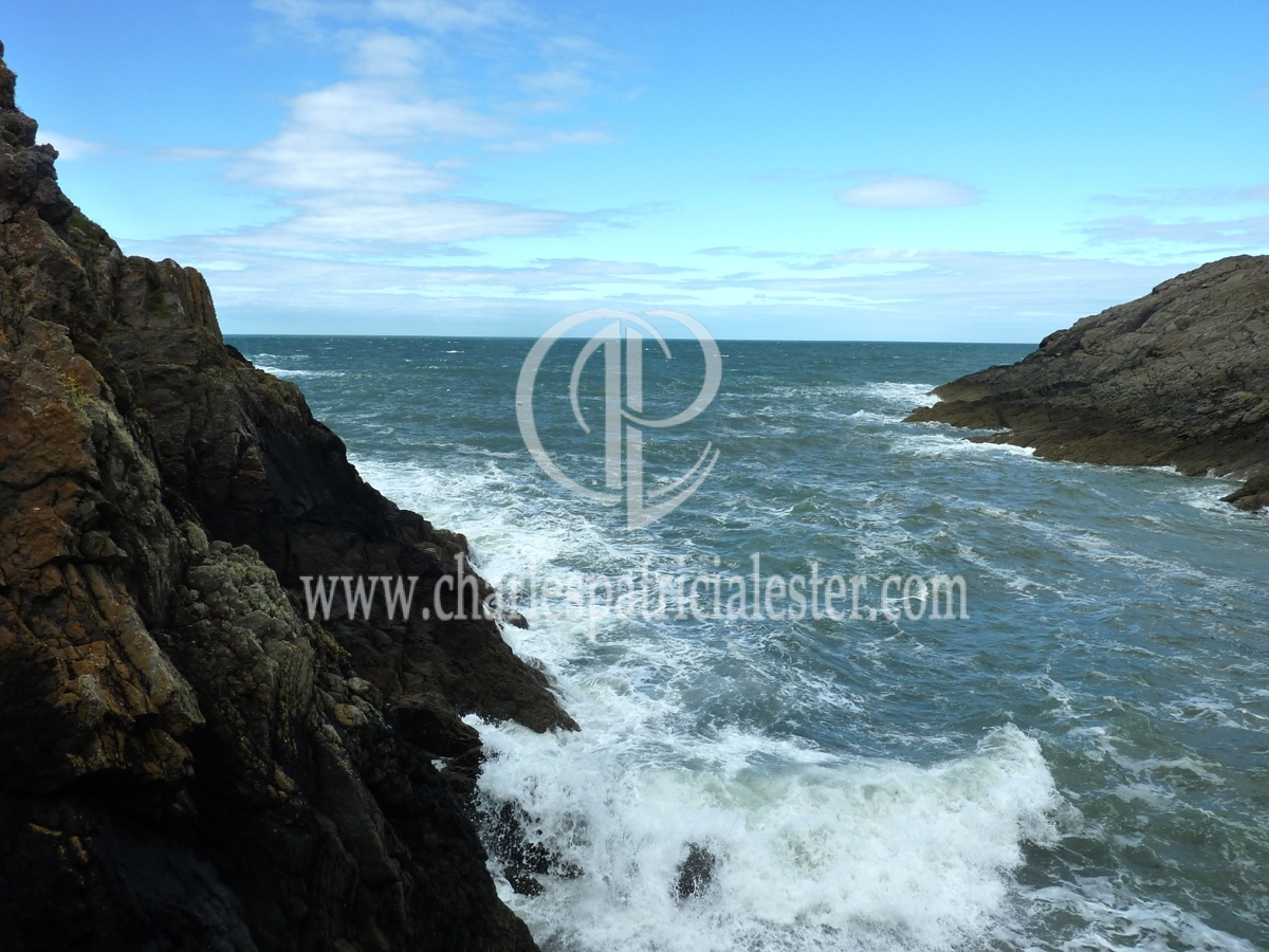 Porthgain-the art of waves in Wales