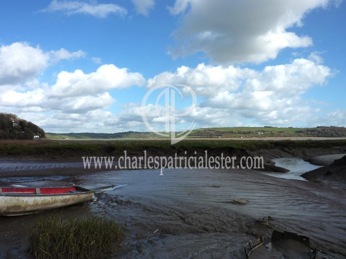 View across the Taf estuary